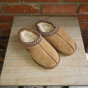 UGG Tasman Slippers Brown Size 6 Slip On 5955